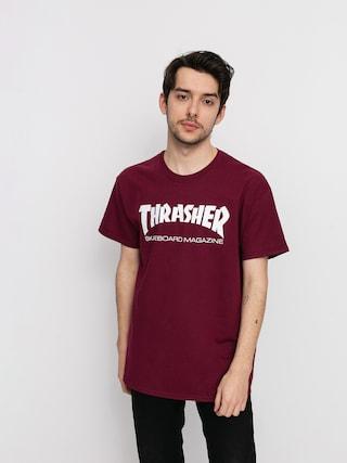 Tričko Thrasher Skate Mag (maroon)