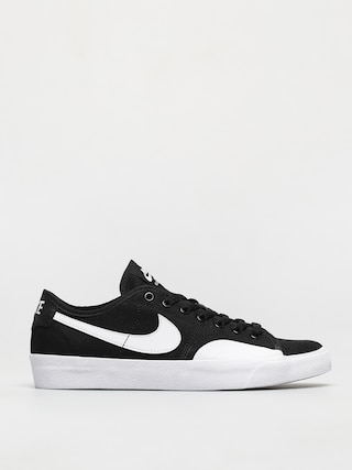 Topu00e1nky Nike SB Blazer Court (black/white black gum light brown)
