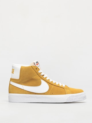 Topu00e1nky Nike SB Zoom Blazer Mid (university gold/white university gold)