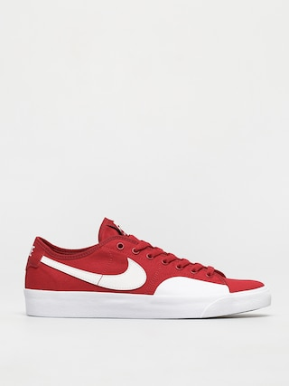 Topu00e1nky Nike SB Blazer Court (gym red/white gym red gum light brown)