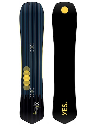 Snowboard Yes The Y (black/yellow)
