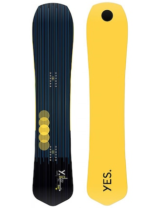 Snowboard Yes The Y (yellow/black)