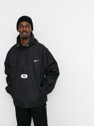 Bunda Nike SB Half Zip (black/black/black/white)