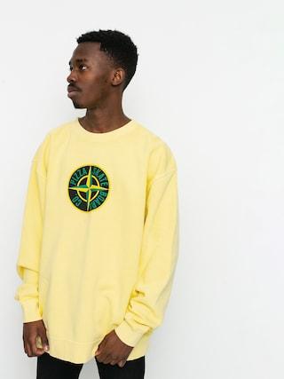 Mikina Pizza Skateboards Stone (yellow)