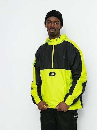 Bunda Nike SB Half Zip (black/cyber/black/anthracite)
