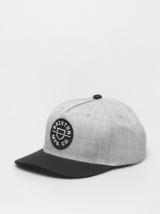 u0160iltovka Brixton Crest C Mp Snbk (heather grey/black)