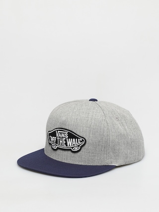 u0160iltovka Vans Classic Patch (heather grey/dress blues)