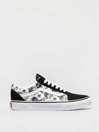 Topánky Vans Old Skool (paradise floral orchid/true white)