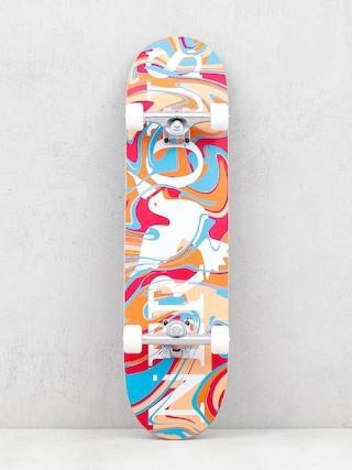 Skateboard Nervous Classic Logo (acid red)