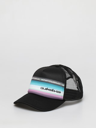 u0160iltovka Quiksilver Sun Faded Trucker ZD (black)