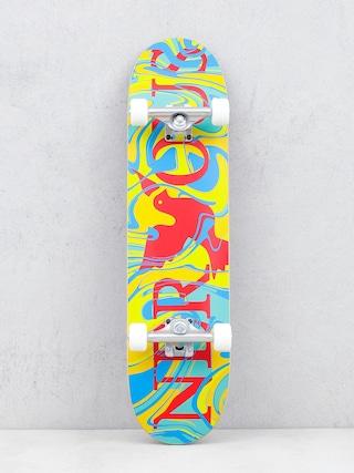 Skateboard Nervous Classic Logo (acid yellow)