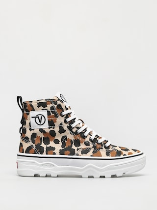 Topu00e1nky Vans Sentry Wc (leopard shifting sand/true white)