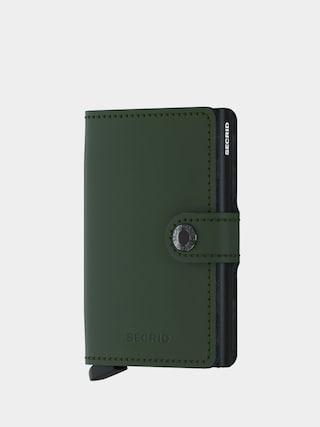 Peu0148au017eenka Secrid Miniwallet (matte green/black)