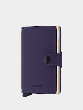 Peňaženka Secrid Miniwallet (matte purple/rose)
