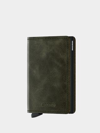 Peňaženka Secrid Slimwallet (vintage olive/black)