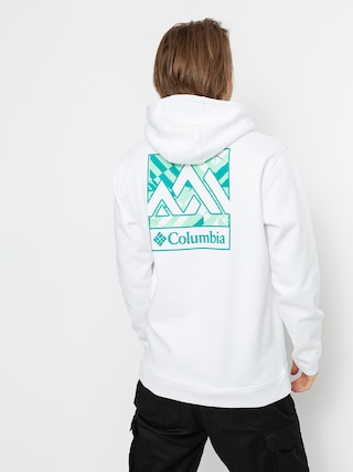 Mikina s kapucu0148ou Columbia CSC Basic Logo II HD (white block print)