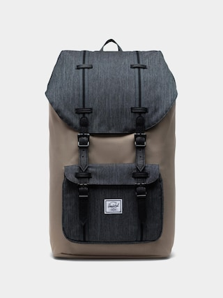 Batoh Herschel Supply Co. Little America (timberwolf/black denim/black)