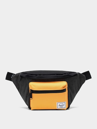 u013dadvinka Herschel Supply Co. Seventeen (black crosshatch/black/blazing orange)