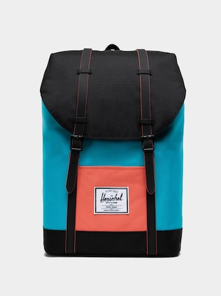 Batoh Herschel Supply Co. Retreat (blue bird/black/emberglow)