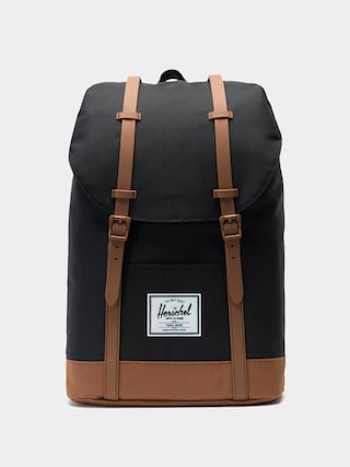 Batoh Herschel Supply Co. Retreat (black/saddle brown)