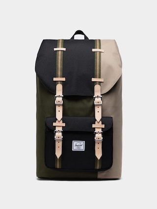Batoh Herschel Supply Co. Little America (ivy green/black/timberwolf)