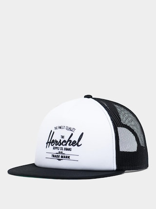 u0160iltovka Herschel Supply Co. Whaler ZD (mesh white/black)