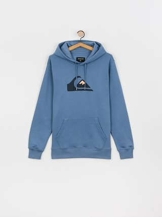 Mikina s kapucu0148ou Quiksilver Comp Logo HD (captains blue)