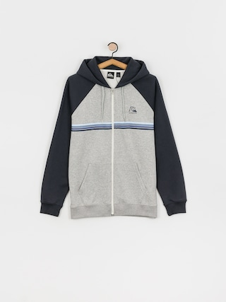 Mikina s kapucu0148ou Quiksilver Everyday Screen ZHD (light grey heather)