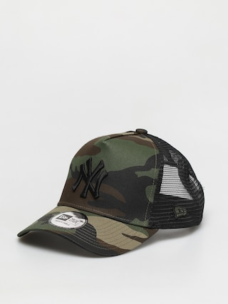 u0160iltovka New Era Clean Trucker New York Yankees ZD (woodland camo/black)