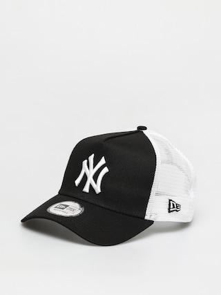 u0160iltovka New Era Clean Trucker New York Yankees ZD (black/white)