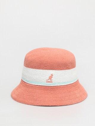 Klobu00fak Kangol Bermuda Stripe Bucket (peach pink)