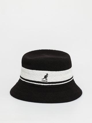 Klobu00fak Kangol Bermuda Stripe Bucket (black)