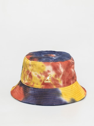 Klobu00fak Kangol Tie Dye Bucket (golden palm)