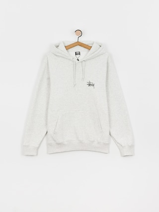 Mikina s kapucu0148ou Stussy Basic HD (ash heather)