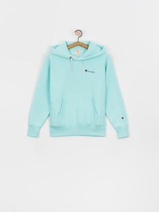 Mikina s kapucu0148ou Champion Sweatshirt HD 113150 Wmn (blt)