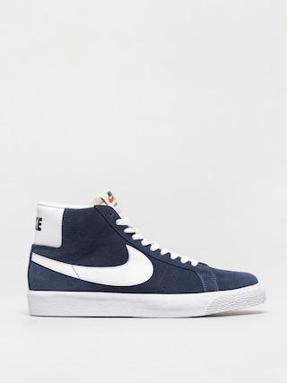 Topánky Nike SB Zoom Blazer Mid (navy/white black university red)