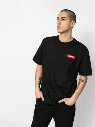 Tričko Prosto Jackart (black)