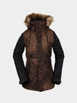 Snowboardovu00e1 bunda Volcom Fawn Ins Wmn (black combo)