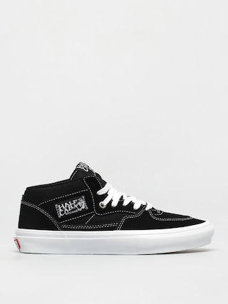 Topu00e1nky Vans Skate Half Cab (black/white)