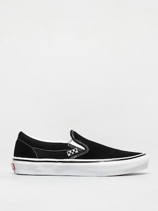 Topu00e1nky Vans Skate Slip On (black/white)