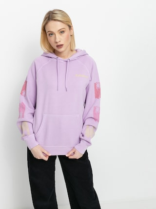 Mikina s kapucu0148ou Billabong Catching Waves HD Wmn (lit up lilac)