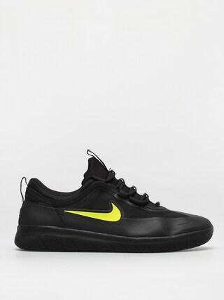 Topu00e1nky Nike SB Nyjah Free 2 (black/cyber black black)