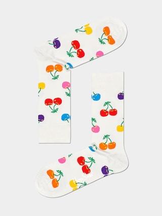 Ponožky Happy Socks Cherry (white)