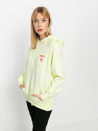 Mikina s kapucu0148ou Billabong Catching Waves HD Wmn (key lime)