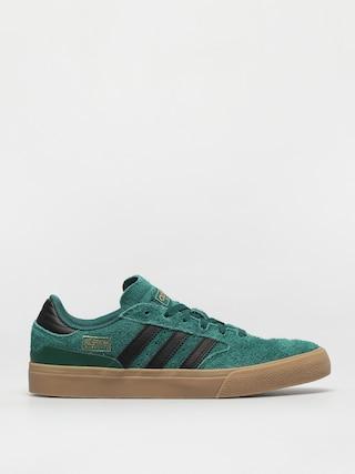 Topu00e1nky adidas Busenitz Vulc II (cgreen/cblack/gum4)