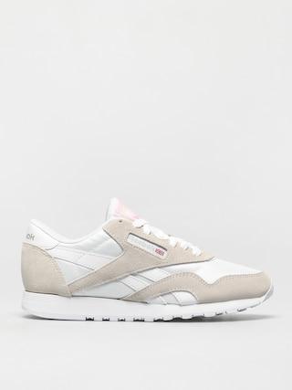 Topánky Reebok Cl Nylon Wmn (white/white/lgtgre)