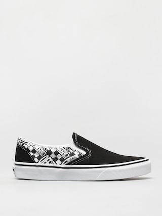 Topánky Vans Classic Slip On (off the wall black/asphalt)