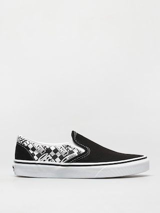 Topu00e1nky Vans Classic Slip On (off the wall black/asphalt)