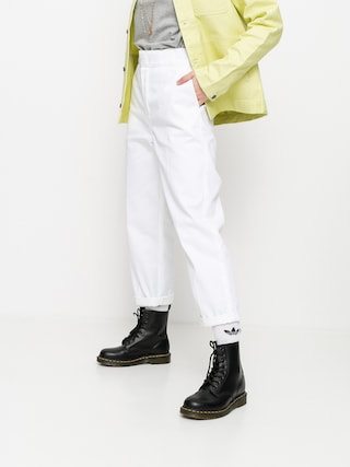 Nohavice Dickies 874 Cropped Wmn (white)