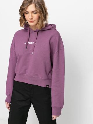 Mikina s kapucu0148ou Dickies Loretto Boxy HD Wmn (purple gumdrop)